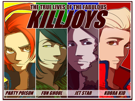 Killjoys - The fabulous four by nezumi-zumi