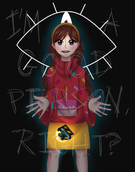 Gravity Falls - I'm a good person, right? by Jyiscool