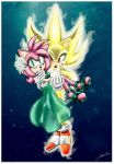 .:GIFT:. Super SonAmy by SonicFF