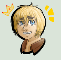 Armin: Official Prince of Cute by AwkwardSharkie