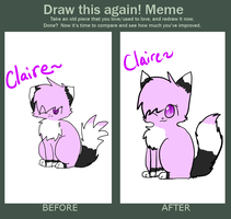 Before and after Meme by MistyEm1101