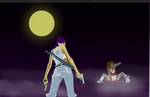 Shelly the zombie hunter by thefelder