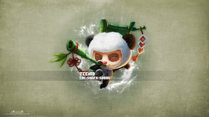 LoL - Panda Teemo Wallpaper #2 by xRazerxD
