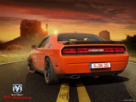 Dodge Challenger SRT8 II by von-sel