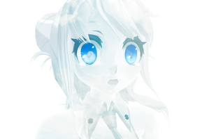 [MMD] _theBlue [ver.2] by CryogenicNeon