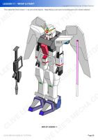 Gundam/mecha cosplay costume tutorial- Lesson 11-3 by Clivelee