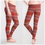 A Cat-astrophic Sweater Leggings by Slothgirlart
