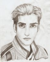 Mikey Way portrait by BadBloodKilljoy