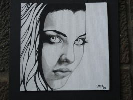 Amy Lee, Evanescence by blackblood2010