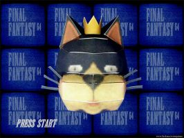 Final Fantasy 64 papercraft by ninjatoespapercraft