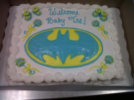 Baby Batman by AingelCakes