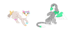 Griff Adoptables sold by catpain