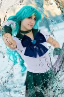 Sailor Neptune by FairyScarlet