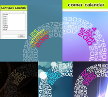 Corner Calendar v2.2 by FreakQuency85