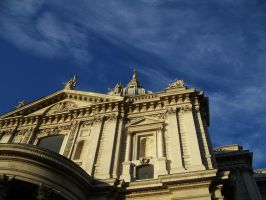 St Paul's Cathedral by psychoviolinist1012