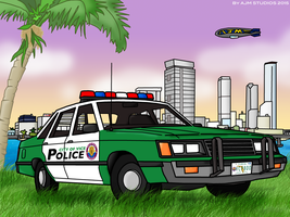 Vice City Police Department by AJMSTUDIOS