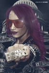 Sasha Banks by GFXWWE