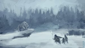 Ice Age speedpainting by XiaMan