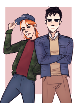 jay and roy uvu by onionns