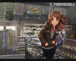 gun shop by nancou