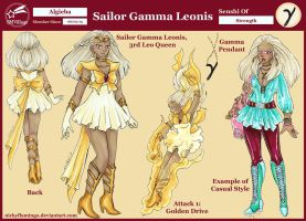 SMVillage - Sailor Gamma Leonis Reference Sheet by nickyflamingo
