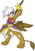 Gilda the Monk by RicePoison