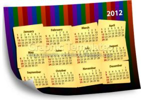 2012 calender templates by scorpy-roy