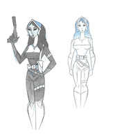 Concept: Loreley by sillybilly13