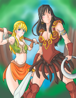 Xena Warrior Princess by Ray-D-Sauce