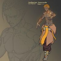 Character Designs: Aetherius Amorande by Kimber09