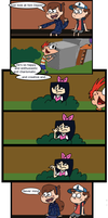 Gravity Falls/Phineas and Ferb Comic 1 by Orange-Octopi