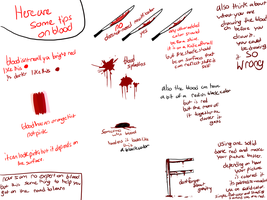 Drawing Blood Tips by MeowTownPolice