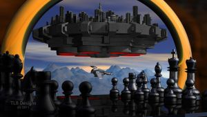 Chess and the City by TLBKlaus