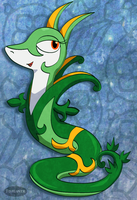 Jade the Serperior by Fishlover