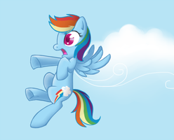 Rainbow Dash by Tenchi-Outsuno