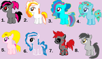 Mlp fim:Adoptable.haloween editon!!!!!(Open) by cottoncloudyfilly