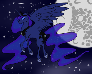 She who Reigns the Night by aquila-donna