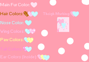 Cupcake Sprinkle Lovelace Color Palette by xXPastelWishesXx