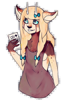 Oh Deer // Commission by R0adK1lled