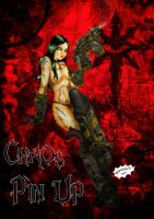 Chaos Lady Pin Up by Axcido