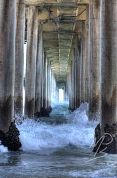 Tunnel of Water by MPhilipPhotography