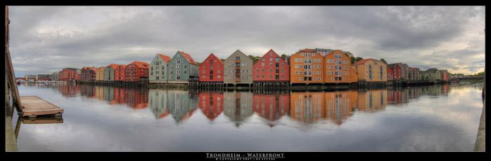 Trondheim - Waterfront by stetre76