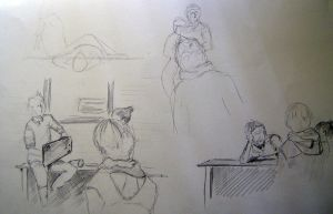 Croquis_Postures by EntryPlug