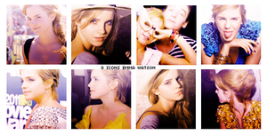 8 icons Emma Watson by simpleestyle