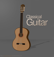 Classical Guitar by crazydesignerylr