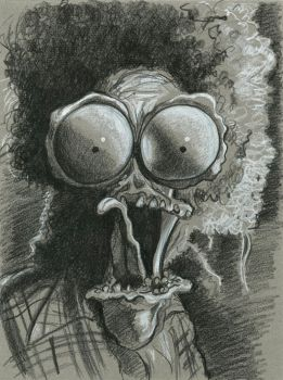 Scary Large Marge! by Caricature80