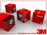 3M Sandpaper Packaging concept by GretheFenyx