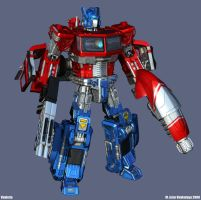 Optimus HD Bot mode 1 by Venksta