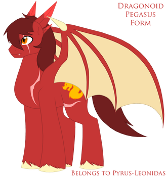 Dragonoid Equine Form Redesign by Pyrus-Leonidas