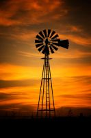 Western Fire by kylewright